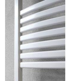 Caleido MARABÚ törülközőszárító radiátor, egyenes, 78.3x50 cm, fehér 78500