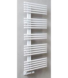 Caleido PAVONE törülközőszárító radiátor, egyenes, 120.7x51 cm, fehér 515012