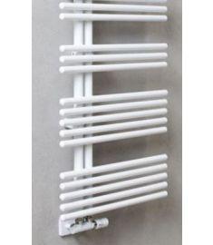 Caleido PAVONE törülközőszárító radiátor, egyenes, 140.2x51 cm, fehér 515014