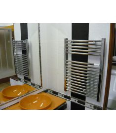 Caleido RONDINE törölközőszárító radiátor, íves 76.5x60 cm, króm 250760CR