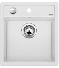 Blanco DALAGO 45 gránit mosogató, 46.5x51 cm, fehér, dugókiemelővel, 517160