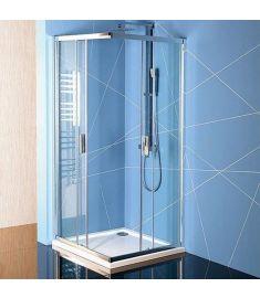Sapho EASY LINE szögletes zuhanykabin, 90x80 cm, transzparent EL5315