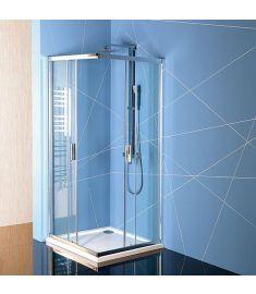 Sapho EASY LINE, szögletes zuhanykabin, 90x90 cm, transzparent üveg EL5115