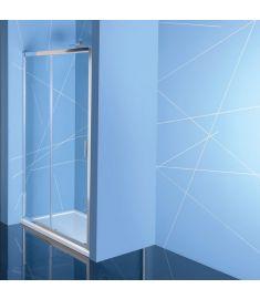 Sapho EASY LINE zuhanyajtó, 120 cm, átlátszó üveg EL1215