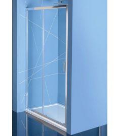 Sapho EASY LINE zuhanyajtó, 130 cm, átlátszó EL1315
