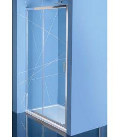 Sapho EASY LINE zuhanyajtó, 140 cm, átlátszó EL1415