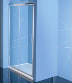Sapho EASY LINE zuhanyajtó, 150 cm, átlátszó EL1515