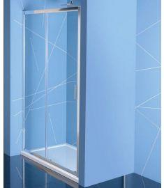 Sapho EASY LINE zuhanyajtó, 160 cm, átlátszó EL1815