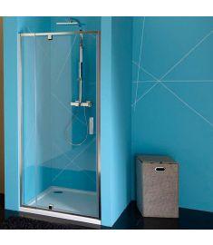 Sapho EASY LINE zuhanyajtó, állítható, 76-90 cm, transzparent üveg EL1615