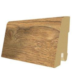 Egger Asgil Oak honey dekorfóliás szegőléc, 240x1.7x6 cm, L289 219374EPL156