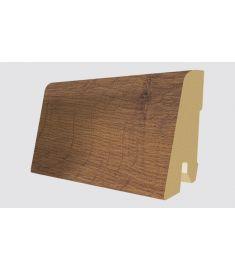 Egger Dark Hamilton Oak dekorfóliás szegőléc, 240x1.7x6 cm, L267 219352EPL104