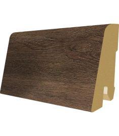 Egger Grey brown Grove Oak dekorfóliás szegőléc, 240x1.7x6 cm, 1003567EBL019