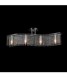 Elmark ANNA kristály csillár, 4xE14, króm, 955ANNA4