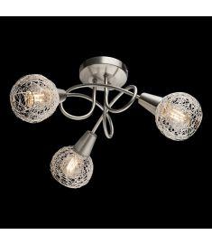 Elmark JULIE mennyezeti lámpa, 3xE14, szatén nikkel/alumínium, 955JULIE3R