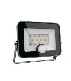 Elmark HELIOS kültéri LED reflektor, mozgásérzékelős, 50W, 5000-5500K/hideg fehér, 98HELIOS50SEN