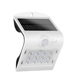 Elmark SOLAR kültéri fali lámpa, mozgásérzékelős, napelemes, LED, 1.5W, fehér, 98SOL200