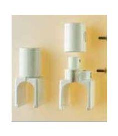 Caleido fali tartó, térelválasztó modell kialakításához, fehér 101011