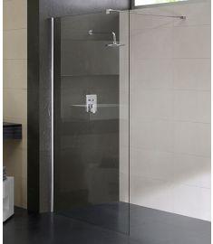 Niagara Wellness FRIDA zuhanyfal, 110x195 cm, állítható kitámasztó karral 399-284