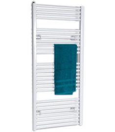 AQUALINE fürdőszoba radiátor, 133x45 cm, egyenes, fehér ILR34