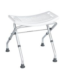 Ridder fürdőszobai szék, összehajtható, fehér A0050301
