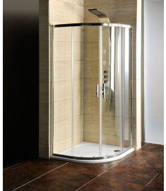 Gelco SIGMA íves zuhanykabin, 90x90x190 cm, zuhanytálcával AG4295