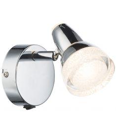 GLOBO ALASKA fali lámpa, LED, 1x4W, króm 56134-1