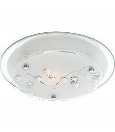 GLOBO BALLERINA I mennyezeti lámpa, króm, tükör, üveg, 1xE27, ILLU 48090