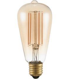 GLOBO LED BULB Edison izzó, E27, 6W, meleg fehér fényű 11399