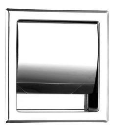 Ferro GRACE falba építhető fedeles WC-papír tartó AC30