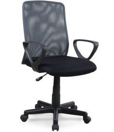 ALEX forgószék, fekete/szürke színű, 57x56x87-99x41-53 cm HM0960