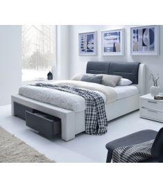 CASSANDRA S 160 fiókos franciaágy, matrac nélkül, ágyráccsal, 172x225x99 cm HM0571