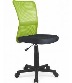 DINGO gyerek forgószék, lime zöld/fekete, 41x56x86-98x43-55 cm HM1046