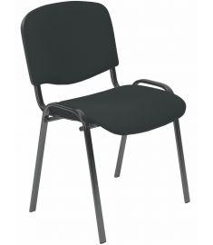 ISO irodai szék, palaszürke/fekete, 53x55x82x47 cm HM1096