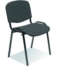 ISO irodai szék, szürke/fekete, 53x55x82x47 cm HM1097