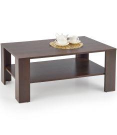 KWADRO dohányzóasztal, sötét dió színű, 110x65x45 cm, HM1704