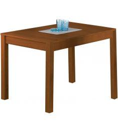 MAURYCY bővíthető étkezőasztal, égerfa színű, 118-158x75x76 cm HM0159