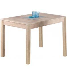MAURYCY bővíthető étkezőasztal, sonoma tölgy színű, 118-158x75x76 cm HM0155