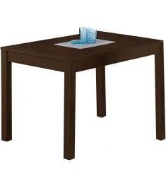 MAURYCY bővíthető étkezőasztal, sötét dió színű, 118-158x75x76 cm HM0158