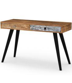 MEZO 2 fiókos íróasztal, multicolor, 120x39x73 cm HM0314