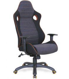 RANGER gamer szék, TILT mechanika, szürke/fekete/narancssárga, 64x65x120-130x47-57 cm HM0921