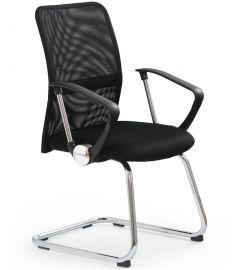 VIRE SKID irodai szék, fekete, 58x60x97x50 cm HM1018