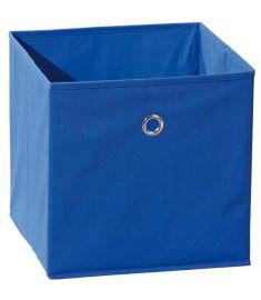 WINNY tárolódoboz, kék színű szövet, 32x32x31 cm HM0562