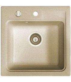 Marmorin ISAO egymedencés gránit mosogató, bézs 470103001
