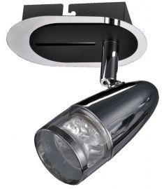 Italux ALBANE fali spot lámpa, LED, 1x4.3W, króm