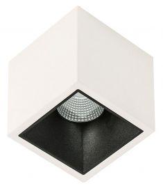 Italux ALDEN mennyezeti lámpa 3000K , LED, 1x18W, fekete/fehér