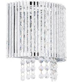 Italux ANABELLA fali kristály lámpa, G9, 1x42W, átlátszó/ezüst