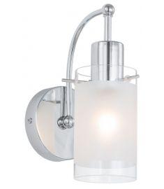 Italux BLEND fali lámpa, E27, 1x60W, króm/fehér