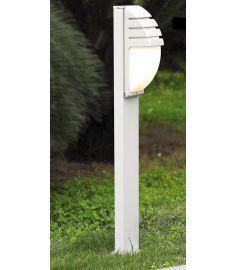 Italux DECORA kültéri álló lámpa, E27, 1x60W, fehér/szürke