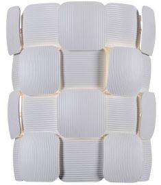 Italux ELISA fali lámpa, E14, 1x40W, fehér