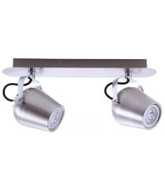 Italux JOSIE mennyezeti spot lámpa, GU10, 2x50W, mattkróm